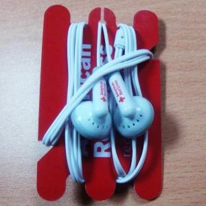 American Red Cross Earbuds custom earbuds
