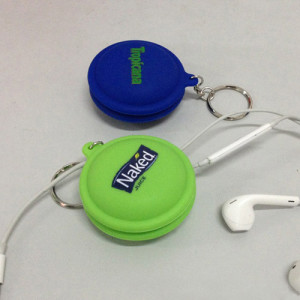 Silicone Round Earbuds Cable Winder KS-A001