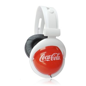 Custom Coca Cola Headphone