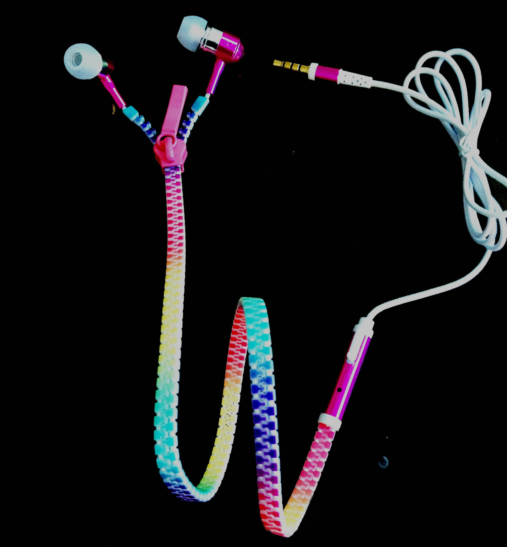 Cool Colorful Glow-In-The-Dark Zip