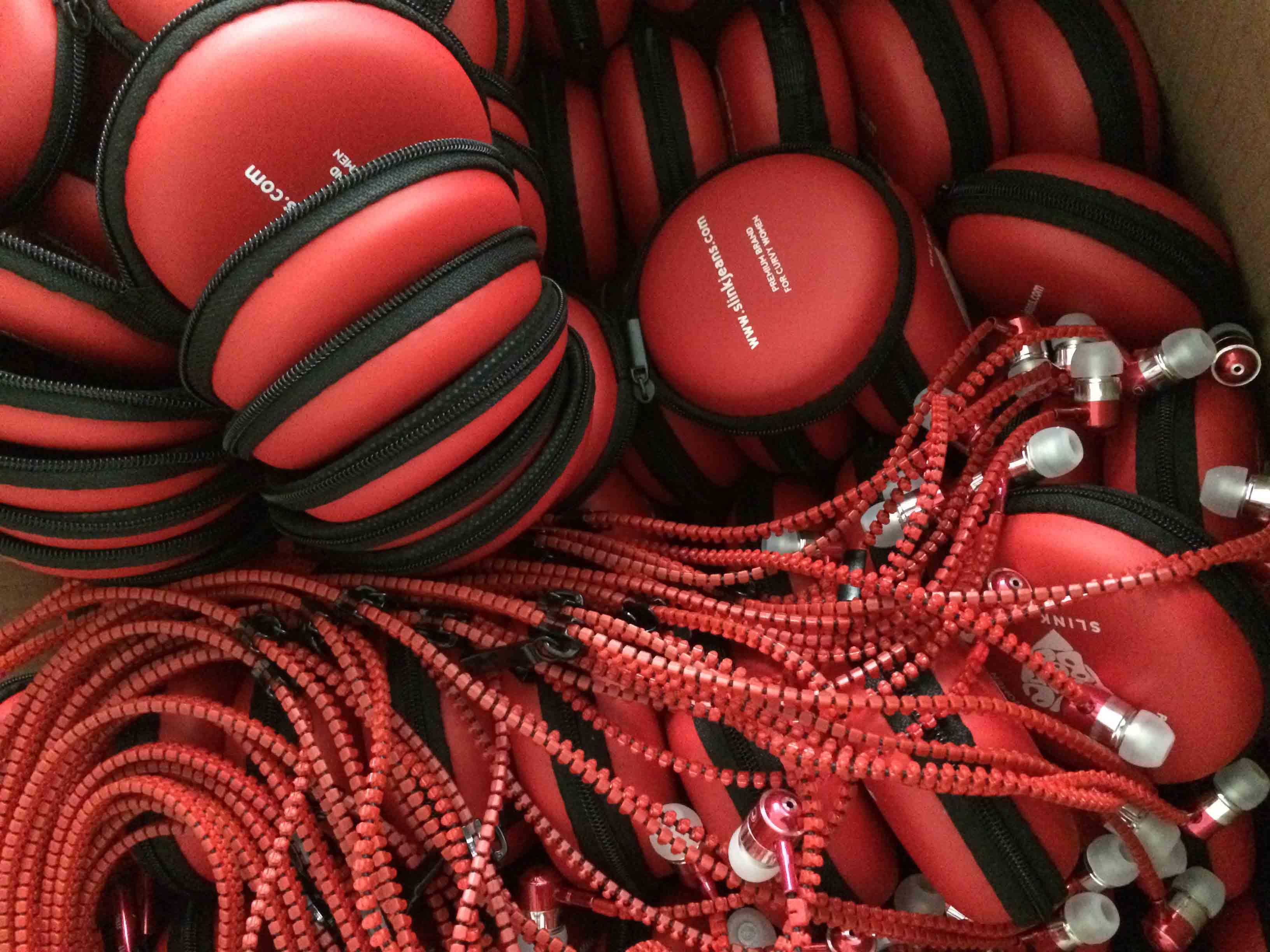 SLINK JEANS Promotion Zipper Earphones
