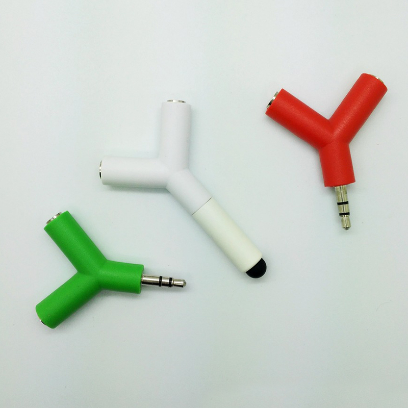 Touch Pen Earphone Splitter