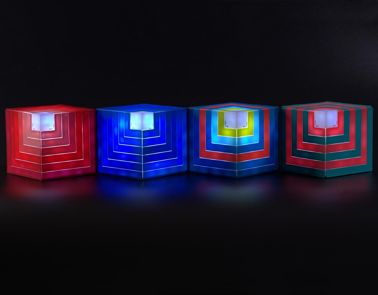 Cubic rainbow speaker (8)